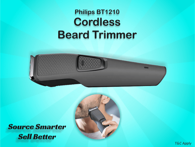 B2B Deals Available on Philips BT1210 Cordless Beard Trimmer