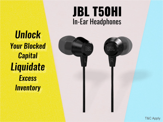 JBL T50HI In-Ear Headphones