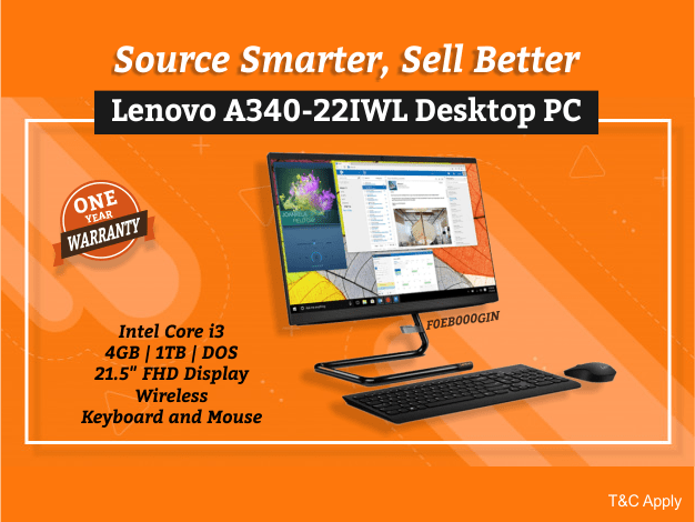 Lenovo A340-22IWL Desktop PC