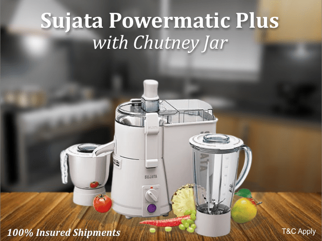 Sujata Powermatic Plus With Chutney Jar