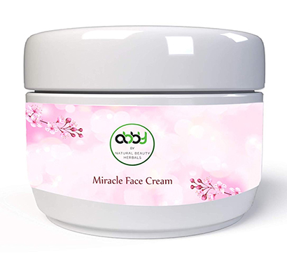 abby miracle face cream 50 gram for pimples,acne,dark circles,pigmentation,sun tan,fairness and dark spots natural solution