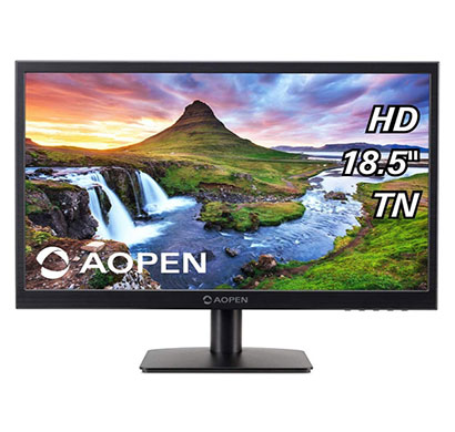 acer aopen (19cx1q) 18.5-inch led monitor with vga port (black)