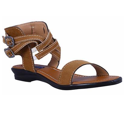 adeera faux suede pvc women sandals