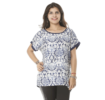 advik western printed top's for women's