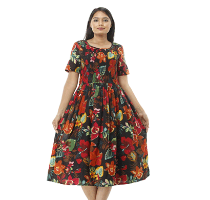 advik printed top's for women (multicolor)