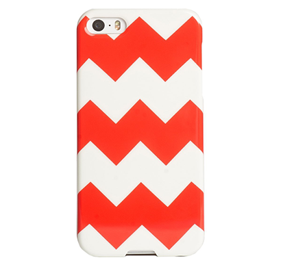 agent18- p5ssl/48, iphone5/5s case, slimshield,(coral chevron)