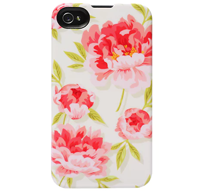 agent18- p5ssl/51, slimshield limited for iphone 5/5s, vintage floral(pink)