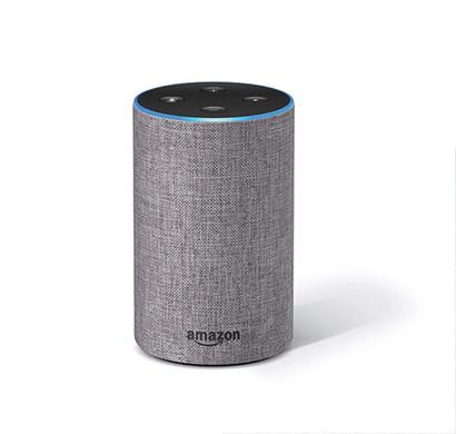 amazon echo smart speaker with alexa powered by dolby grey