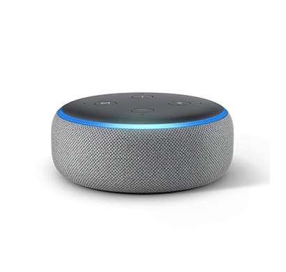 amazon echo dot (3rd gen) ,grey