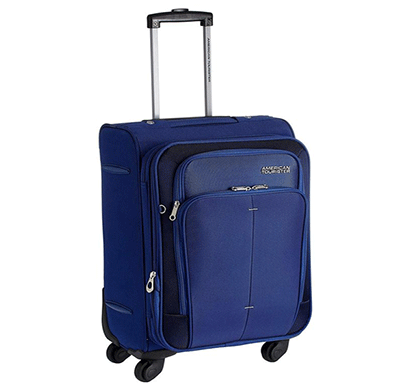american tourister crete spinner 55cm - ink blue
