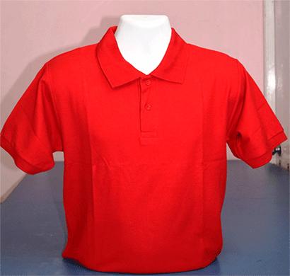 100anb mens round neck t-shirt combed (180-190 gsm) cotton orange