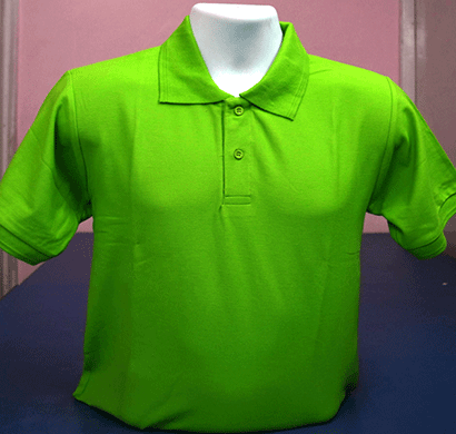 100anb mens round neck t-shirt combed (180-190 gsm) cotton green