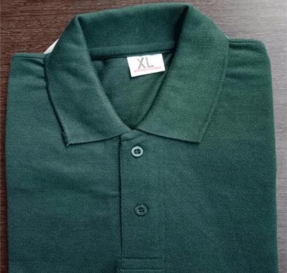 100anb mens polo (coller) t-shirt (220 gsm) - poly cotton green