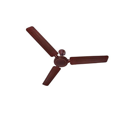 anchor ceiling fan coolking (3-blades, brown) (14003br-1b) 1200 mm energy saving 3 blade ceiling fan