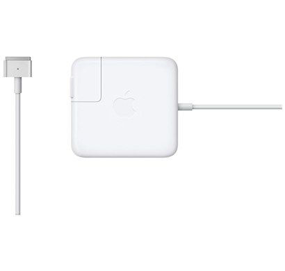 apple - 888462858953 45w magsafe 2 power adapter for macbook air, white