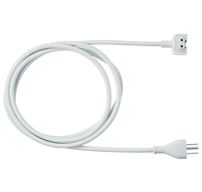 apple - 888462488402 power adapter extension cable, white