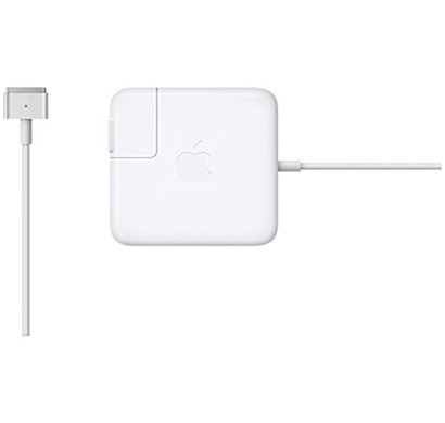 apple - 888462537926 45w magsafe power adapter for macbook air, white