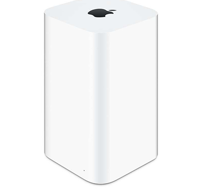 apple - 885909749508 air port extreme wireless router, white