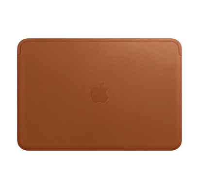 apple leather sleeve ( for macbook 12-inch ), saddle brown