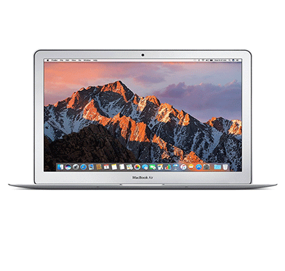 apple macbook air mqd42hn/a 13-inch laptop (core i5/8gb/256gb/mac os/integrated graphics), silver 1 year warranty