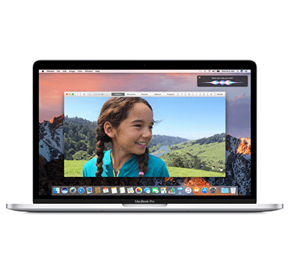apple macbook pro mlvp2hn/a laptop (core i5/ 8gb/ 256gb/ mac os/ integrated graphics/ touch bar), silver