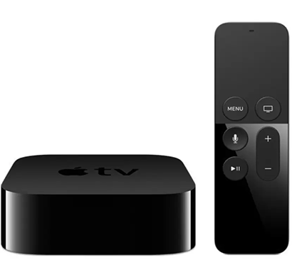 apple - mlnc2hn/a (apple tv 64gb) black, 1 year warranty