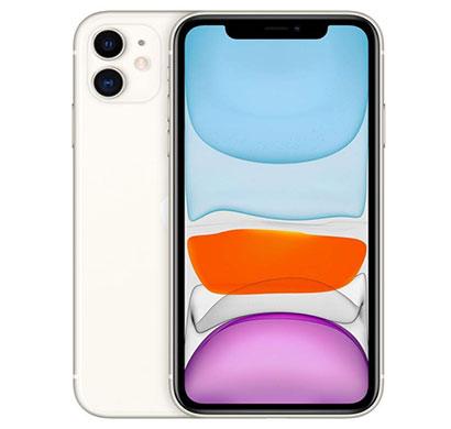 apple iphone 11 (64 gb storage/ 6.1 inch screen), black & white