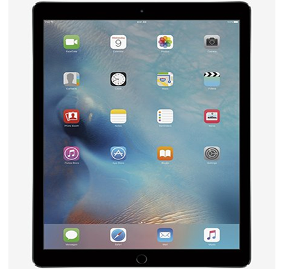 apple - ml0f2hn/a ipad pro calling tablet, 32gb, wi-fi only, 12.9 inch, space grey, 1 year warranty