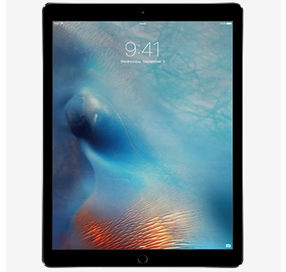 apple - ml2i2hn/a ipad air 2 tablet, 128gb, wi-fi+cellular, 12.9 inch, space gray, 1 year warranty