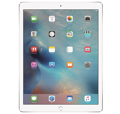 apple - ml2j2hn/a ipad air 2 tablet, 128gb, wi-fi+cellular, 12.9 inch, siiver, 1 year warranty