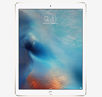 apple - ml2k2hn/a ipad air 2 tablet, 128gb, wi-fi+cellular, 12.9 inch, gold, 1 year warranty