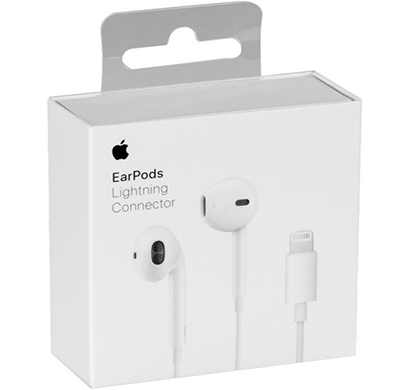apple -190198001733 ear pods with lightning connector, white