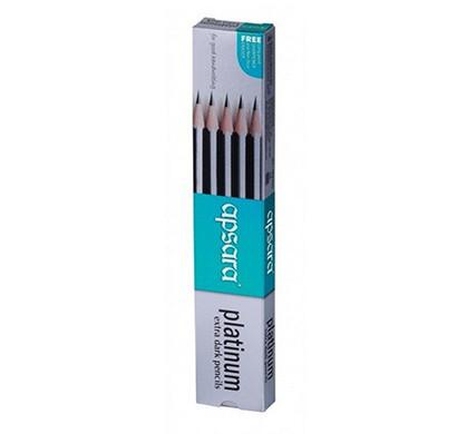 apsara platinum extra dark pencils (pack of 10)