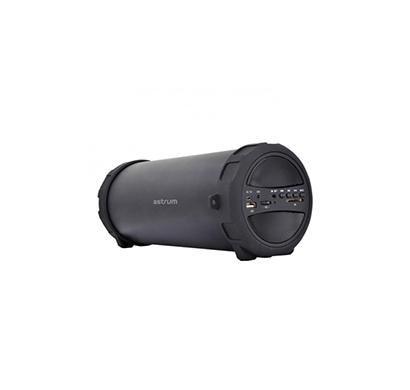 astrum sm300 10w wireless barrel speaker (black)
