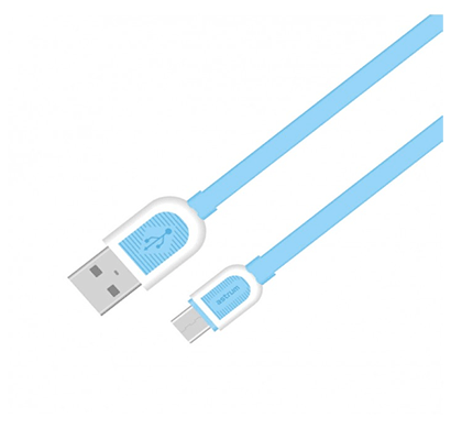 astrum ud360 micro usb male - usb male usb charge / sync cable (blue and white )