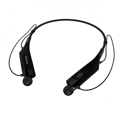 astrum et230 wireless behind-neck magnet holder earphone (black)