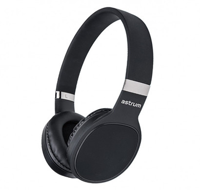 astrum ht400 wireless on-ear headset (black)