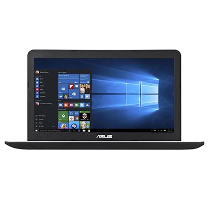 asus a556ua-xo016d (90nb09s1-m00160) laptop (core i5 (5th gen)/4 gb/1 tb/39.62 cm (15.6)/dos) (black