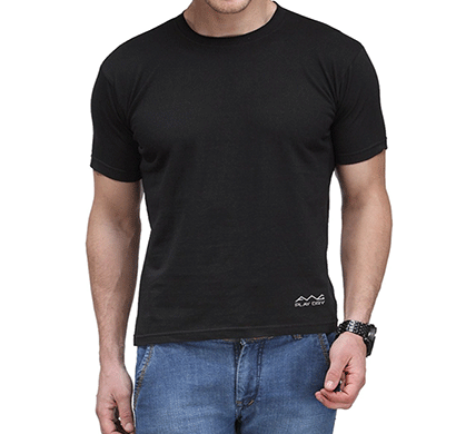 awg 100anb (150 gsm) drifit performance sports round neck t-shirt black