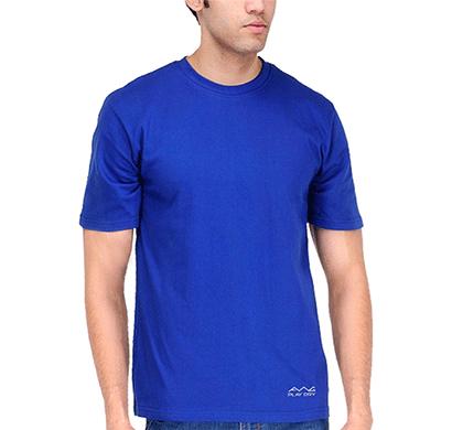 awg 100anb (150 gsm) drifit performance sports round neck t-shirt royal blue