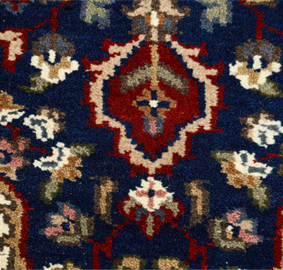 asterlane 7/7 carpet hand knotted pkwl-106 navy blue