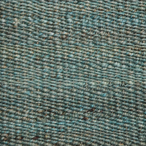 Asterlane Hemp Dhurrie Carpet PX-2125 Cool Aqua