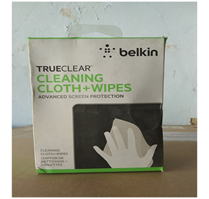 belkin- trueclear cleaning cloth wipes