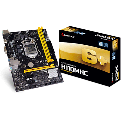 biostar h110mhc 7th generation intel motherboard