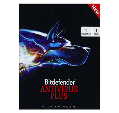 bitdefender antivirus plus for windows 1 user, 1 year