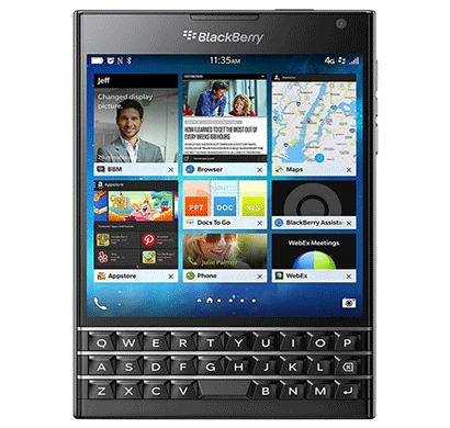 blackberry passport 32 gb, 13mp primary camera, 3gb ram, 3450mah battery black