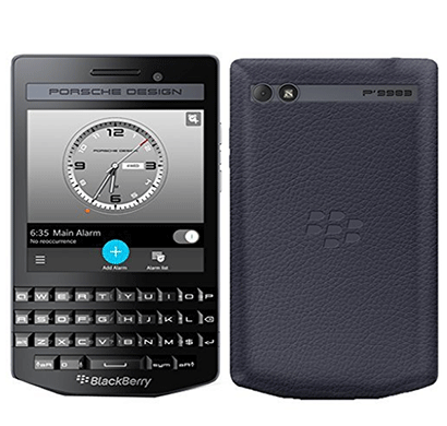 blackberry porsche design p9983, 2 gb ram, 64 gb, 3.1 inch screen black