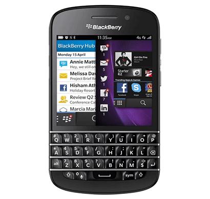 blackberry q10, 2 gb ram, 16 gb, 3.1 inch display black