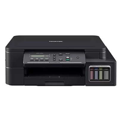 brother dcp-t310 inktank refill system multi-function color printer (black)