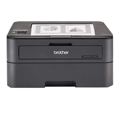 brother hl-l2321d single function monochrome laser printer with auto duplex printing